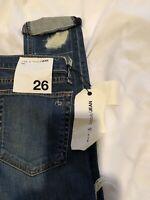 rag and bone skinny jeans sz 26