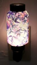 NWT Misty Gold Purple Leaves Oriental Lantern Night Light Lamp Nightlight
