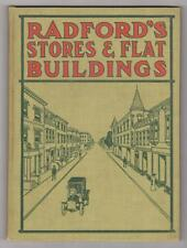 Radford Architectural Co. Radford's Stores and Flat Buildings. IL, 1909. 1st ed.