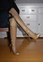 GUESS Overknee Stiefel   Gr.41   NP: 399 €  Traumhaft schön und sehr feminin....