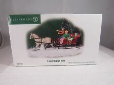 "DEPARTMENT 56 NEW ENGLAND VILLAGE SERIES ""FAMILY SLEIGH RIDE"" 56.57105"