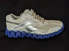 Reebok ZigTech Running Shoes Men Size 11 Athletic Shoes White Blue
