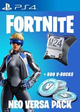 Fortnite Neo Versa Bundle + 500 V-Bucks PS4 Voucher Code