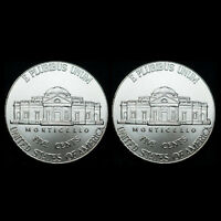 2020 P+D Jefferson Set ~ U.S. Mint Coins from Bank Rolls