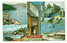 Conway 5 views postcard 1974
