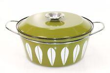 "Green Catherineholm Lotus Pot Casserole Dish 4.5 Qt. 10.5"""