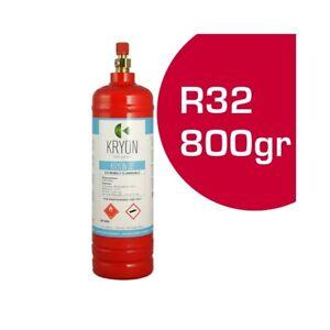 Cylindre Pulvérisation Gaz Refroidissement Climatisation R32 800gr 1lt