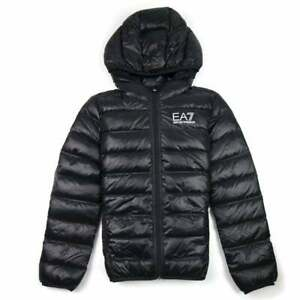 Ea7 Puffa Jacket Black