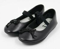 Zoe & Zac Toddler Girls Black Mary Jane Shoes Size 6.5M NEW