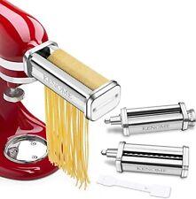 Kitchen Aid 3 Piece Pasta Roller & Cutter Set Brand New