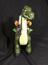 New ListingFisher Price Imaginext Dinosaur Mega Apatosaurus Walking w/sounds Works Great!