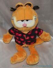 2005 TY BEANIE BABIES Plush VALENTINES DAY GARFIELD The CAT w/ I LOVE YOU Shirt