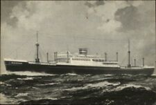 Steamship Holland American Line NOORDAM Old Postcard