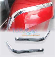 FIT FOR 13- TRAX TRACKER SIDE MIRROR CHROME COVER TRIM MOLDING OVERLAY PROTECTOR