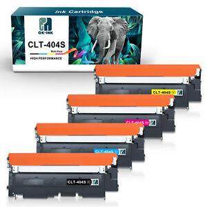 4 XXL Toner für Samsung Xpress C430W C480FW SL-C430W SL-C480W SL-C480FN CLT-404S
