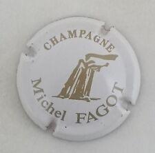capsule champagne FAGOT michel n°3 blanc et or