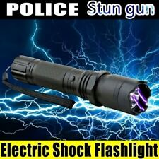 Rechargeable Camping LED Flashlight T6 Tactical Police Torch Self-defense Shock