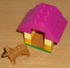 Lego City 1 Hund mit Hundehütte (1)