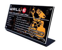 LEGO 21303 WALL•E - CUSTOM ACRYLIC DISPLAY STAND
