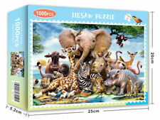 Jigsaw Puzzle Animal World Puzzles For Adults Kids Learning Education 1000Piece