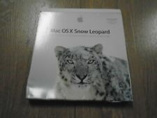 APPLE MAC OS X Snow Leopard Operating System