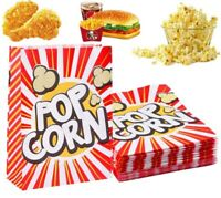 48X Popcorn Boxes Movie Hollywood Birthday Party Cinema Treats Paper Bags Fun US