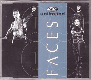 2 Unlimited - Faces (Maxi-CD 1993)