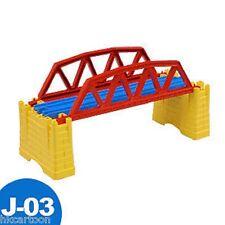 GENUINE NEW TOMY THOMAS TRAIN BLUE RAIL SCENIC PART- J-03 IRON BRIDGE 381006