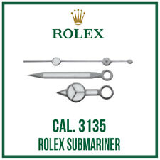 ♛ ROLEX Submariner Hand Set, High Quality, Swiss Made, For Cal. 3135 ♛