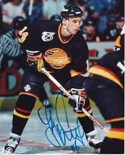 VANCOUVER CANUCKS GEOFF COURTNALL SIGNED 8 X 10 PHOTO w COA
