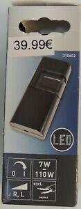 LED-Schnurdimmer Schwarz 7 W - 110 W Art. Nr.: 315602