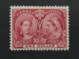 Nystamps Canada Stamp # 61 Mint OG H VF UN$1200 e6xi