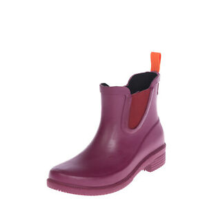 SWIMS Rain Chelsea Boots Size 36 UK 3 US 6 Waterproof Elastic Gussets Pull On