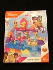 New Mega Construx Barbie Dreamtopia Mermaid Lagoon 123 PCS