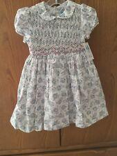 Nwt Sz 4 Luli & Me Smocked Floral Dress