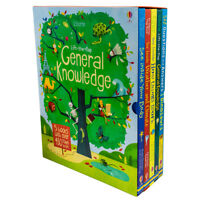 Usborne Lift -The-Flap General Knowledge 5 Books Collection Box Set Brand new