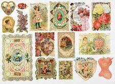Rice Paper for Decoupage Decopatch Scrapbook Craft Sheet Little Romantic Cards