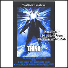 Fridge Fun Refrigerator Magnet THE THING MOVIE POSTER Version A 80s Horror SciFi