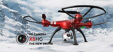 Syma X8HG RC Drones w/ 8MP Camera High Hold 4CH 6Axis Quadcopter upgraded X8G