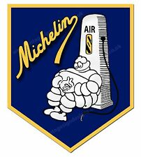 "MITCHELIN TYRES AIR DIGITALLY CUT OUT VINYL STICKER. 3"" X 4"" OVERALL. CODE 5"