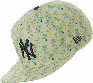 New Era 9fifty Micro Pattern NY Yankees Baseball Cap Snapback Multicolour S/M