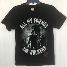 The Walking Dead Prison Tower All My Friends Are Walkers Zombies T Shirt Small