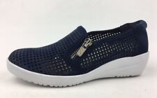 Anne Klein Yaris Wedge Sneakers Women's Size 5M, Navy 1023