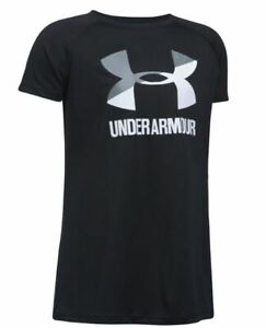 Under Armour Girls' Big Logo Graphic T-Shirt, Brand New with tags