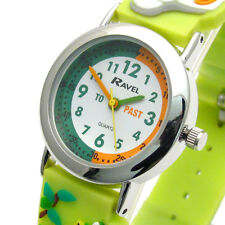 Ravel Kids Time Teacher Watch Jungle Animals Silicone Band 1513.78
