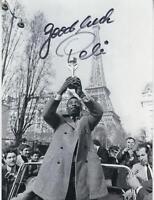 Pele - Original Autogramm -  signertes Foto - 21x15 cm