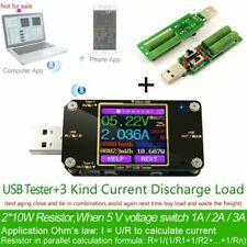 TFT Color USB Type-C Tester Wireless Bluetooth DC Digital Voltmeter Detector