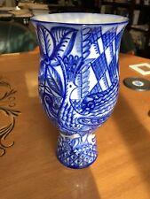 Rare, collectible, Imperial Russian Lomonosov hand painted LFZ Porcelain Vase.