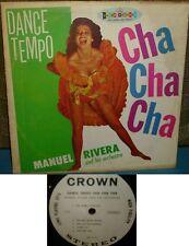 MANUEL RIVERA - DANCE TEMPO CHA CHA CHA - LATIN LP
