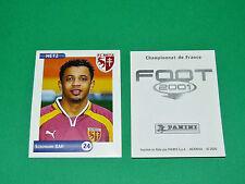 PANINI FOOT 2001 FRANCE FOOTBALL 2000-2001 BAH FC METZ LORRAINE SAINT-SYMPHORIEN